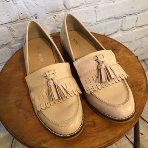 Nine West Patent Leather Tassel Loafers - Sz 5.5